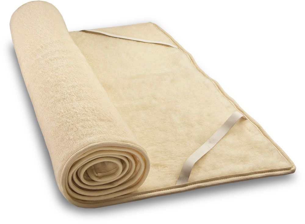 Wool Plush Mattress Topper