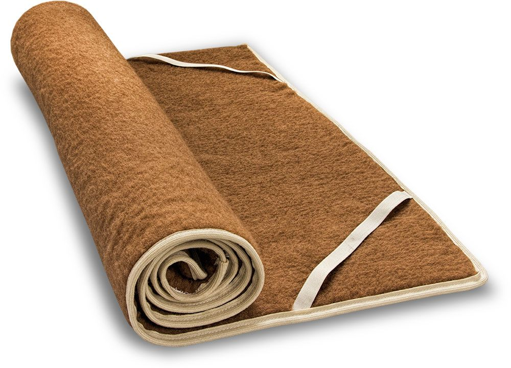 Camel Plush Mattress Topper